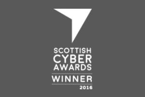 Scottish Cyber Awards Winner 2016